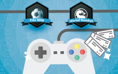 1º campeonato de vídeo game