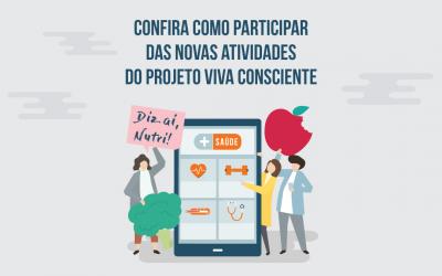 Agenda das atividades do Projeto Viva Consciente
