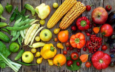 Por que devo consumir frutas, verduras e legumes?